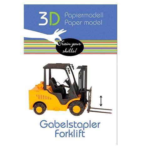 Paper Model – Vehículo Carretilla Elevadora