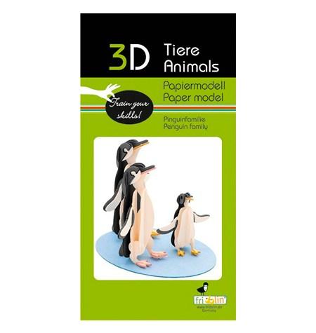 Paper Model – Pingüinos