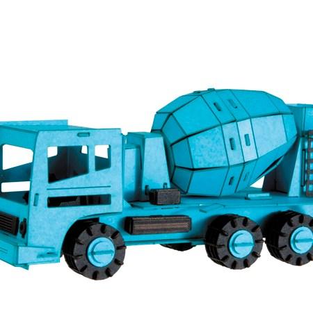 Paper Model – Vehículo Hormigonera