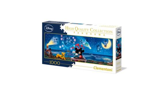 Puzzle 1000 DISNEY Mickey y Minnie – Clementoni