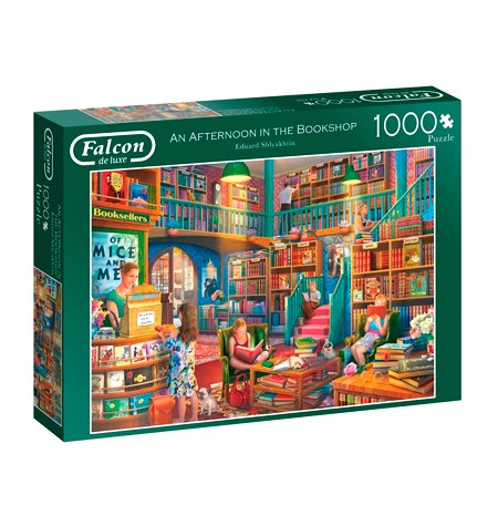 Puzzle 1000 An Afternoon in the Bookshop – Falcon