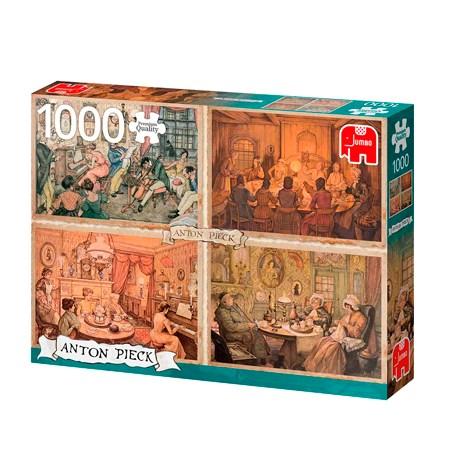 Puzzle 1000 ANTON PIECK – Diversión en sala de estar – Jumbo