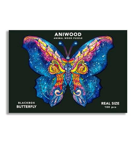 Puzzle 100 Madera PQ – Mariposa – Aniwood