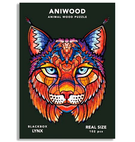 Puzzle 102 Madera PQ – Lince – Aniwood