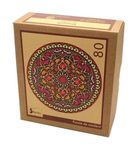 Puzzle 80 Madera – MANDALA Shaanti – SPuzzles