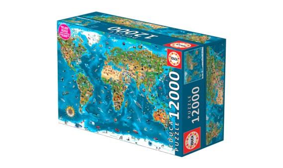 Puzzle 12000 Maravillas del Mundo – Educa
