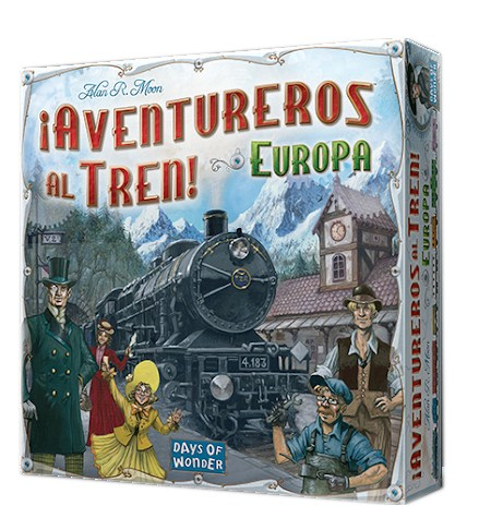 Aventureros al Tren EUROPA