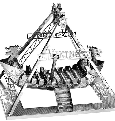 Metal Model Barco Vikingo
