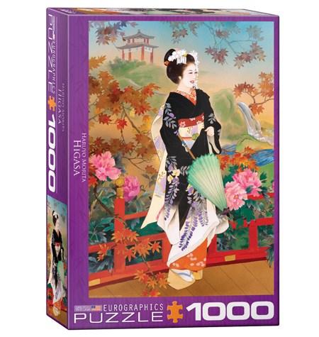 Puzzle 1000 Geisha Higasa- Eurographics