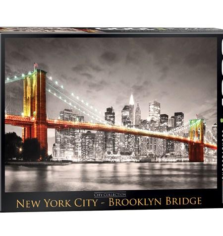 Puzzle 1000 New York City Brookling Bridge – Nueva York – Eurographics