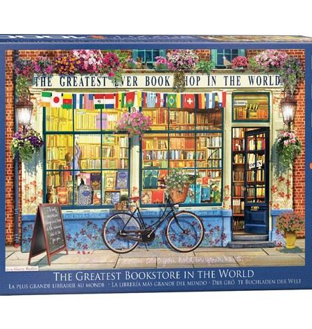 Puzzle 1000 -Tienda de Libros – The Greater BookStore – Eurographics
