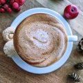 Dairy Free Eggnog Latte