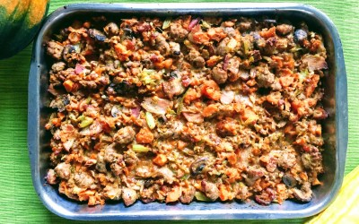Paleo Thanksgiving Stuffing (Gluten, Grain & Dairy Free)
