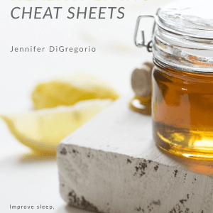 Healthy Living Cheat Sheets