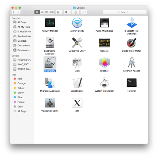 Clone OSX to a new SSD [for upgrade]