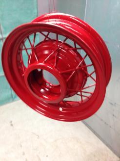 Finished Wheel