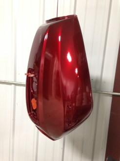 Anodized Red with Clear Coat