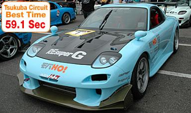 Tsukuba Circuit  Best Time 59.1 Sec