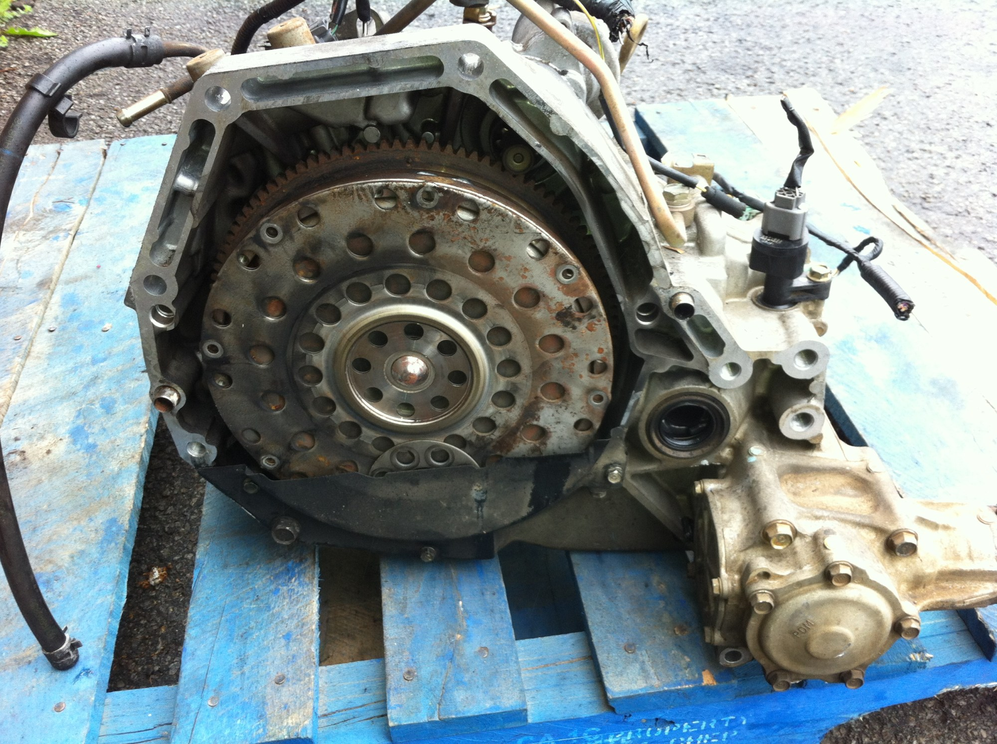 hight resolution of jdm honda crv automatci transmission with torque converter and flywheel