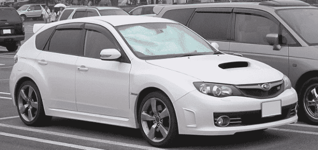 Third Generation of Subaru Impreza