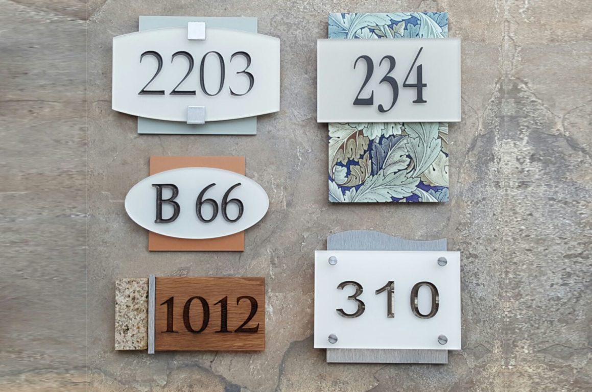 unit plaques