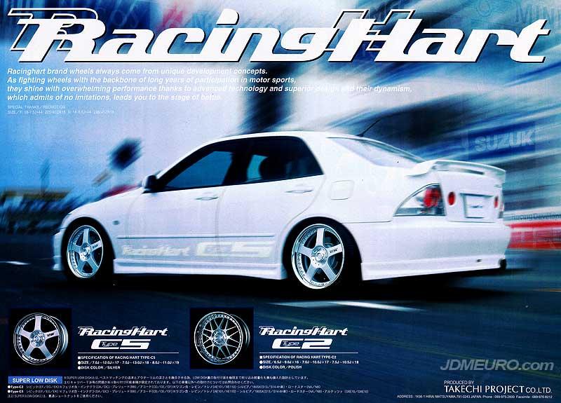 Racing Hart Wheels
