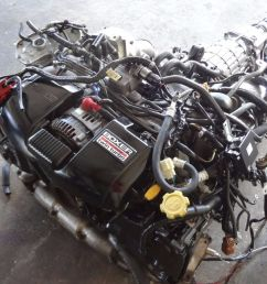 99 04 subaru legacy gt be5 b4 twin turbo engine transmission wiring ecu jdm ej208 [ 1600 x 900 Pixel ]