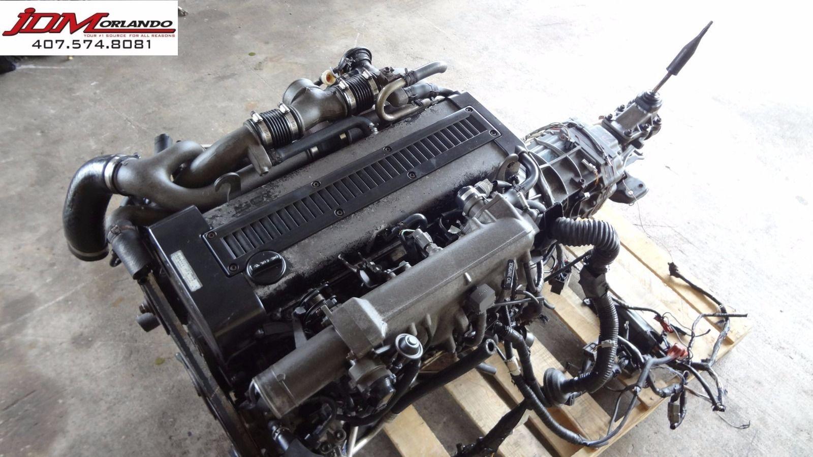 1jzgte 25l Motor With R154 Transmission Ecu Wiring Toyota Supra