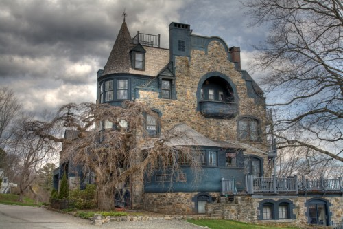 The Norumbega Inn, in Camden, Maine (photo by Terry Bowker)