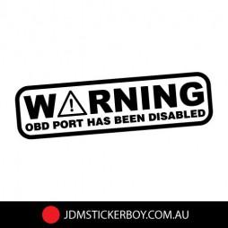 0210A---Warning-OBD-PORT-170x46-W