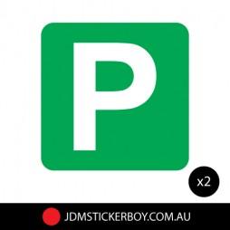 0467ST---P-Plate-Green-150x150