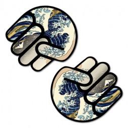 0768LS---2-x-Kanagawa-Wave-Fist-Shocker-87-x-95-W