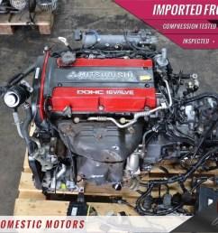 jdm mitsubishi 4g63 evolution vii 7 4g63 engine only ecu wiring 2 0l turbo [ 1600 x 1066 Pixel ]