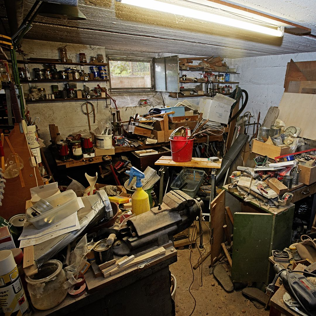 Basement Cleanout JDog Junk Removal Amp Hauling