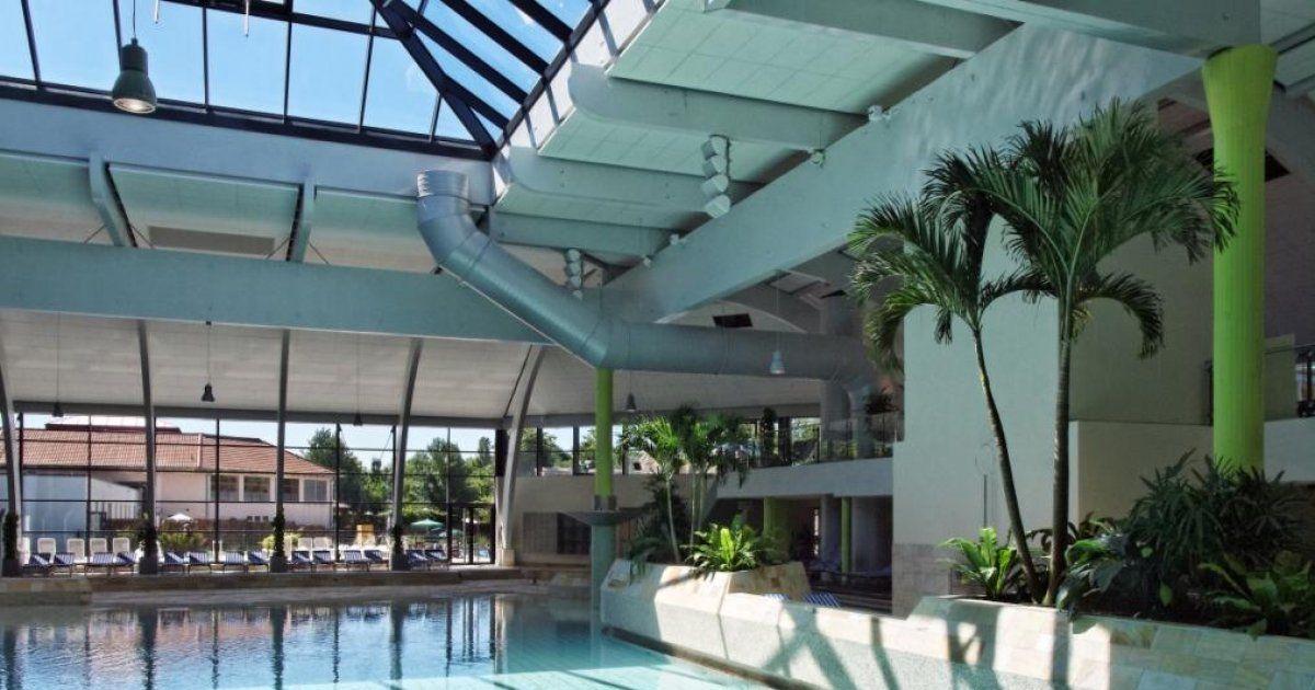 Laguna  Weil am Rhein Allemagne  piscine SPA toboggans jeux dans leau  JDS