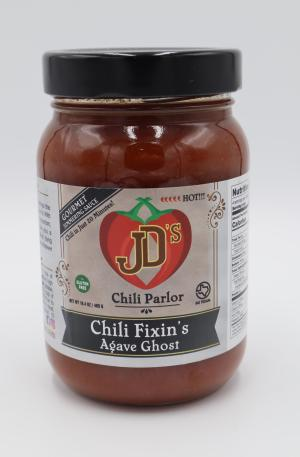 JD's Chili Parlor Agave Ghost Chili Fixins