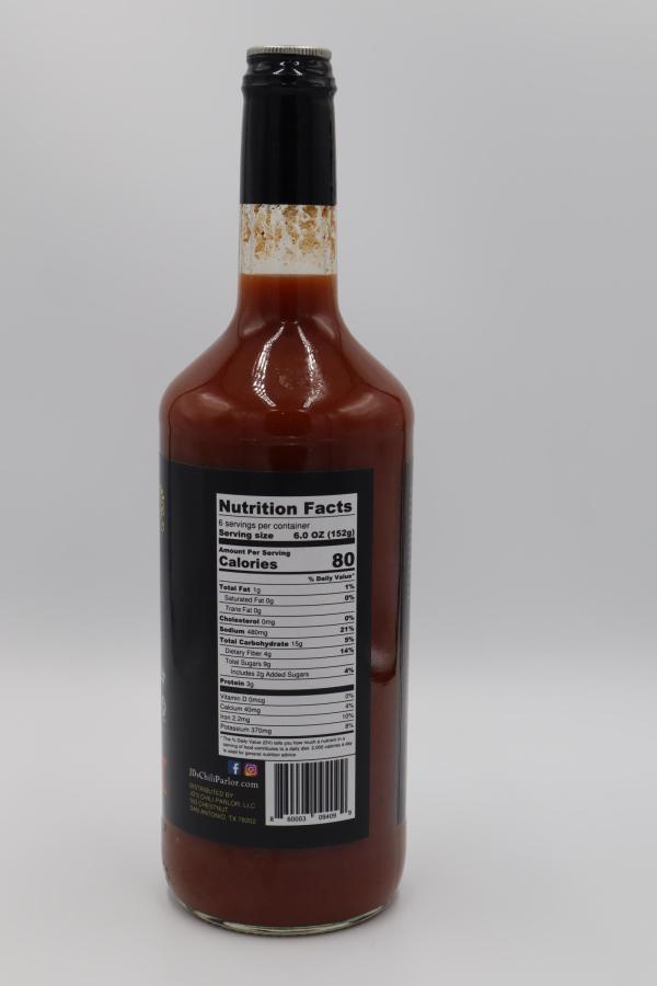 JD's Chili Parlor Original Chili Mary Gourmet Bloody Mary Mix