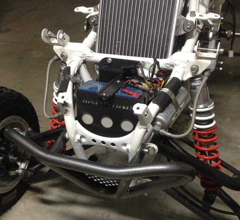 Yamaha Blaster Engine Wiring Front Mount Battery Cdi Rectifier Dc Conversion Bracket
