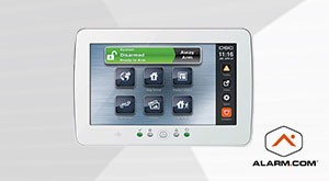 Alarm.com compatible DSC Neo Powerseries Alarm System