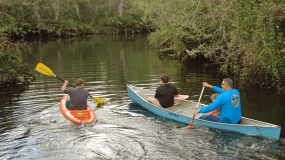 Canoeing and Kayaking in the Loxahatchee | Jonathan Dickinson State Park, Hobe Sound, FL