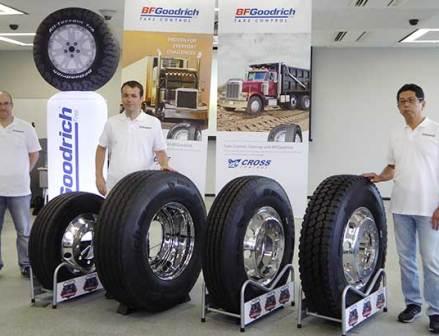 【ミシュラン】BFグッドリッチのトラックタイヤを国内導入