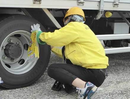 整備不良4割台に 浜名湖タイヤ点検の結果まとまる