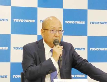 "TOYO TIRE清水社長「2019年は""第二の創業"" 変化を飛躍のチャンスへ」"