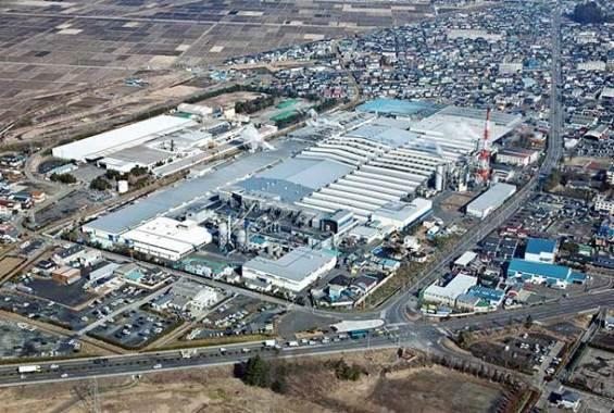 TOYO TIREの仙台工場