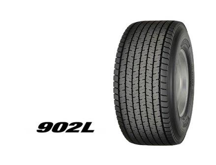 横浜ゴムが超偏平シングルタイヤ「902L」発売 トラックの積載量増に貢献