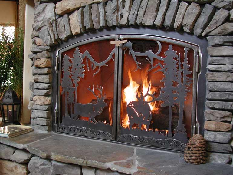 Fireplace Screens  J Dubs Metalworks