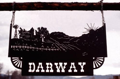 Ranch Sign - Darway Ranch