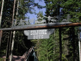 Ranch Sign - Simone Boys