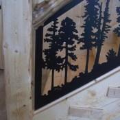 Stair Panel Closeup