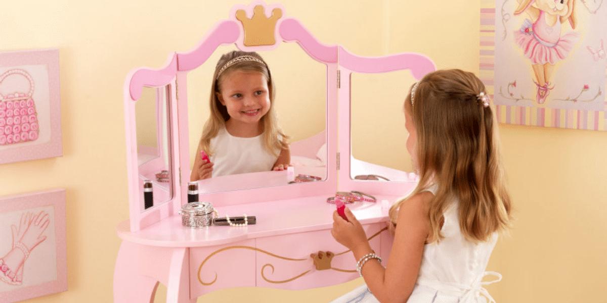 coiffeuse enfant kidkraft un meuble